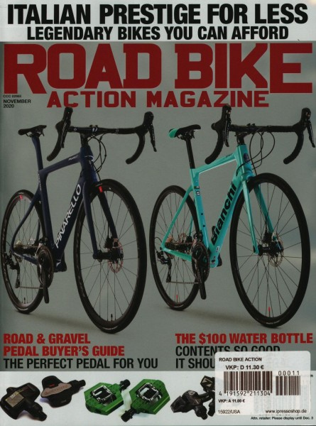 ROAD BIKE ACTION MAGAZINE 11/2020
