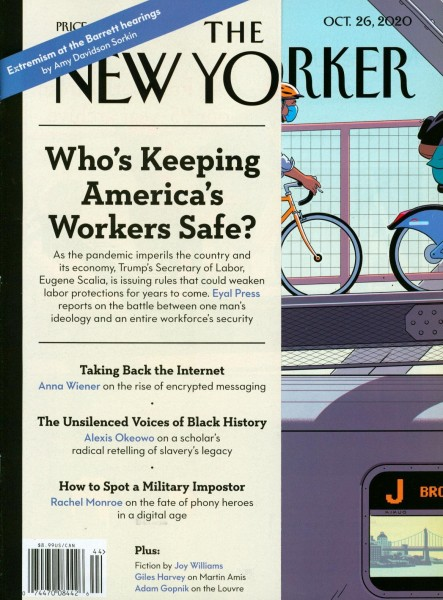 THE NEW YORKER 44/2020