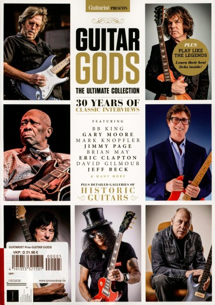 GUITARIST Pres GUITAR GODS 5/2020