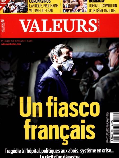 VALEURS ACTUELLES 4349/2020