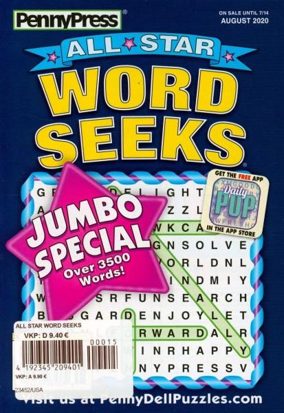 ALL STAR WORD SEEKS 15/2020