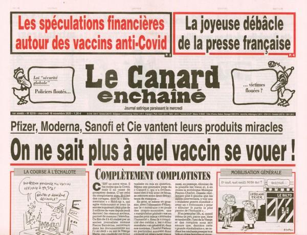 Le Canard enchaînè 5219/2020