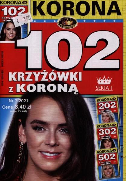 102 KRZYZOWKI Z KORONA 7/2021