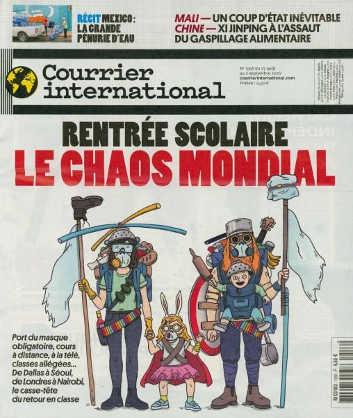 Courrier international 1556/2020