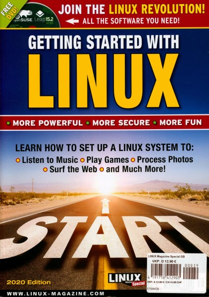 LINUX Magazine Special 39/2020