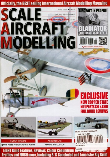 SCALE AIRCRAFT MODELLING 6/2020