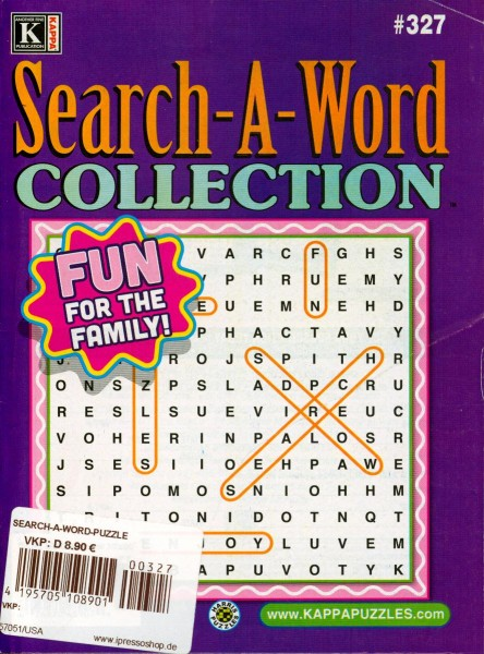 Search-A-Word COLLECTION 327/2020