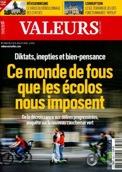VALEURS ACTUELLES 4362/2020