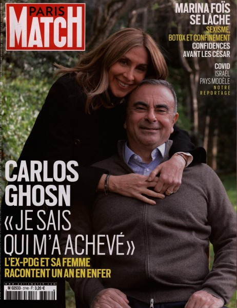 PARIS MATCH 3748/2021