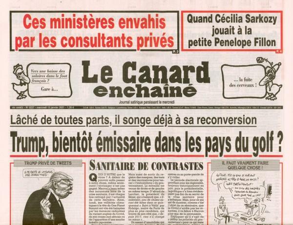 Le Canard enchaînè 5227/2021