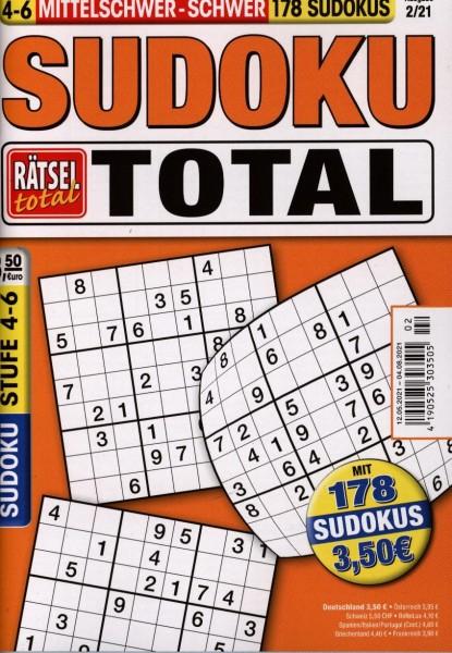 Rätsel tot.SudokuTotal4-6 2/2021