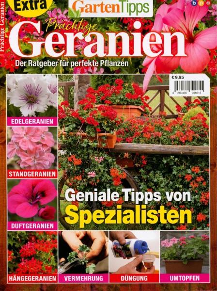 GartenTipps Prächtige Geranien 1/2020