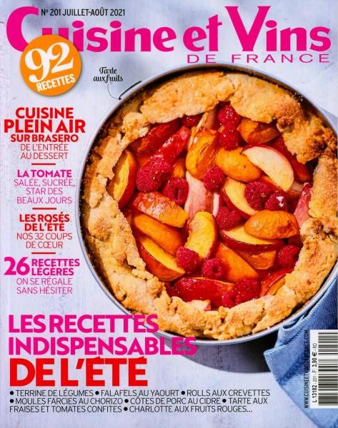 Cuisine et Vins DE FRANCE 201/2021