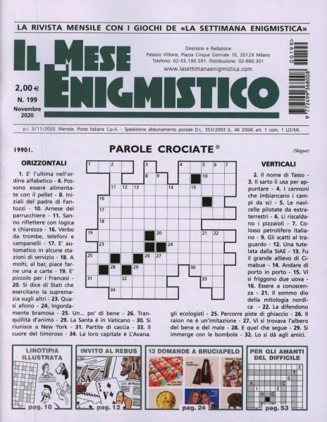 IL MESE ENIGMISTICO 199/2020