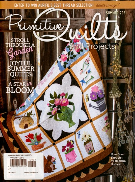 Primitive Quilts and PROJECTS 2/2021