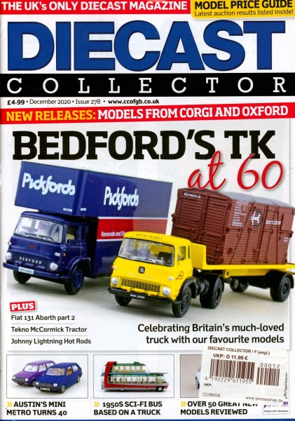 DIECAST COLLECTOR 12/2020