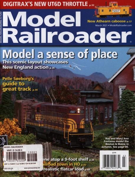 Model Railroader 3/2021