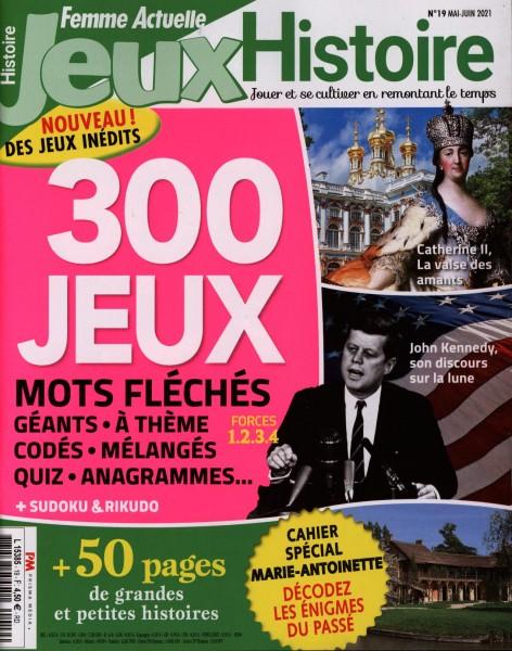 FEMME ACTUELLE JEUX HISTOIRE 19/2021