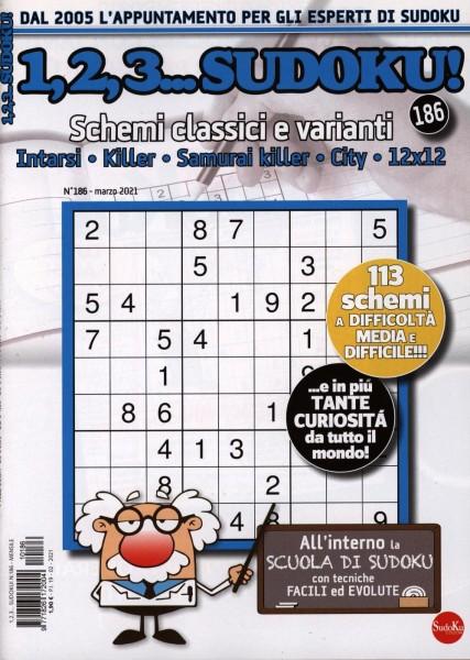 1,2,3...Sudoku! 186/2021