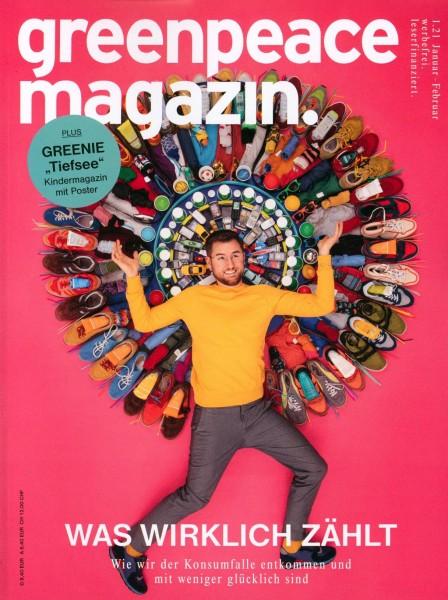 greenpeace magazin. 1/2021