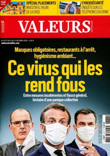 VALEURS ACTUELLES 4377/2020