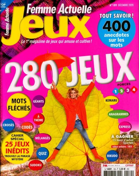 Femme Actuelle Jeux 189/2020