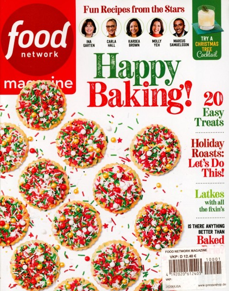 food network magazine 1/2021