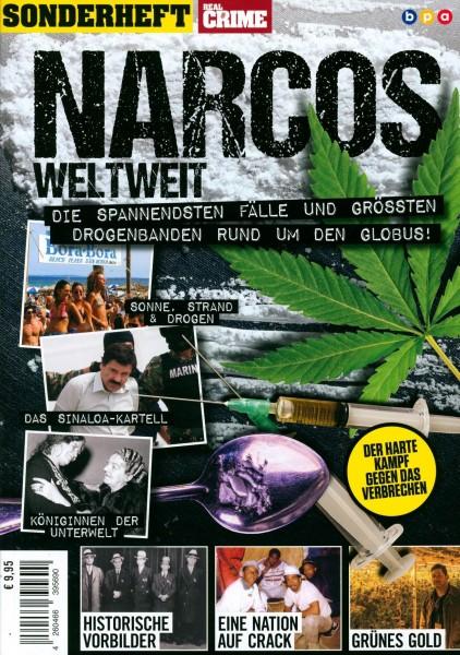 REAL CRIME SONDERHEFT NARCOS WELTWEIT 2/2020