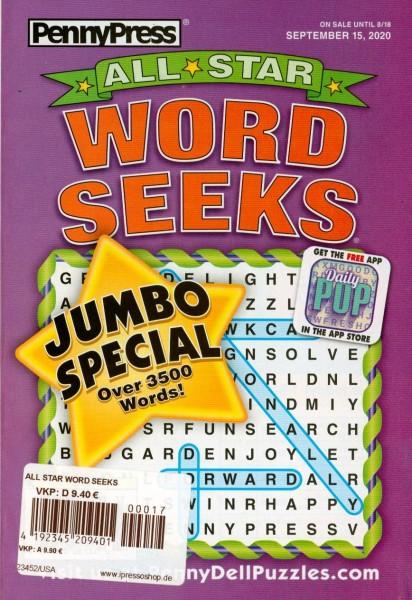 ALL STAR WORD SEEKS 17/2020