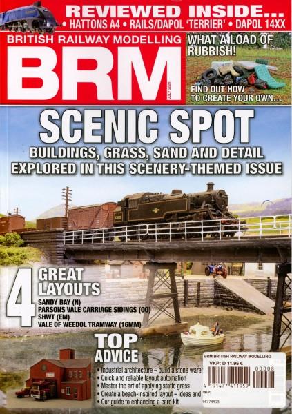 BRM BRITISH RAILWAY MODELLING 8/2020