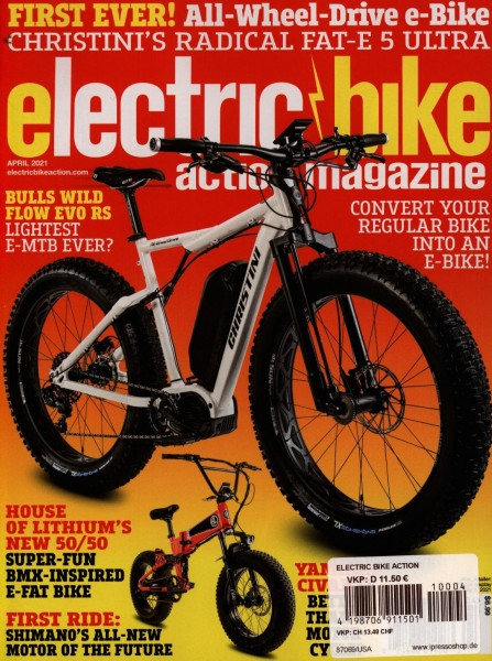 ELECTRIC BIKE ACTION 4/2021