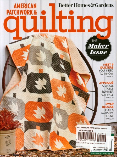 AMERICAN PATCHWORK & quilting 10/2020