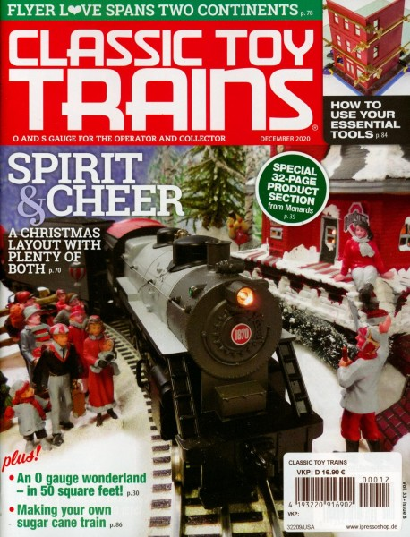CLASSIC TOY TRAINS 12/2020