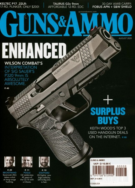 GUNS & AMMO 8/2020