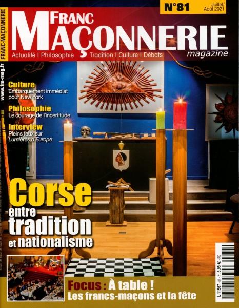 FRANC MACONNERIE magazine 81/2021