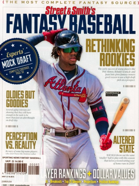 Street & Smith's FANTASY BASEBALL 95/2020