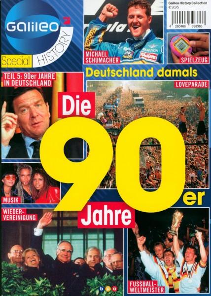 Die 90er Jahre in Deutschland
