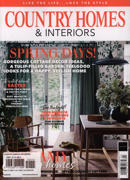 COUNTRY HOMES & INTERIORS 4/2021