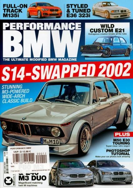 PERFORMANCE BMW 12/2020