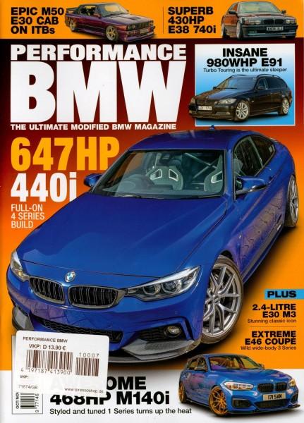 PERFORMANCE BMW 7/2021