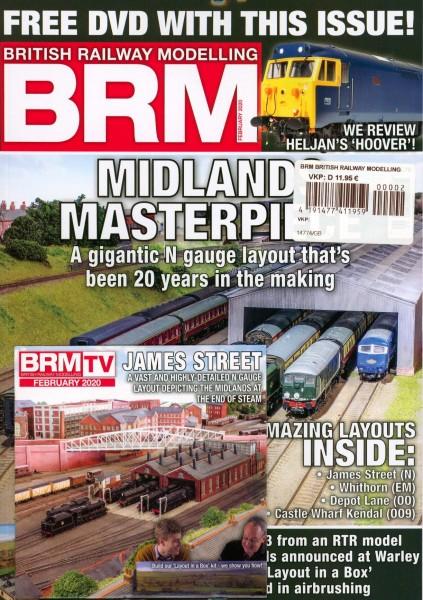BRM BRITISH RAILWAY MODELLING 2/2020