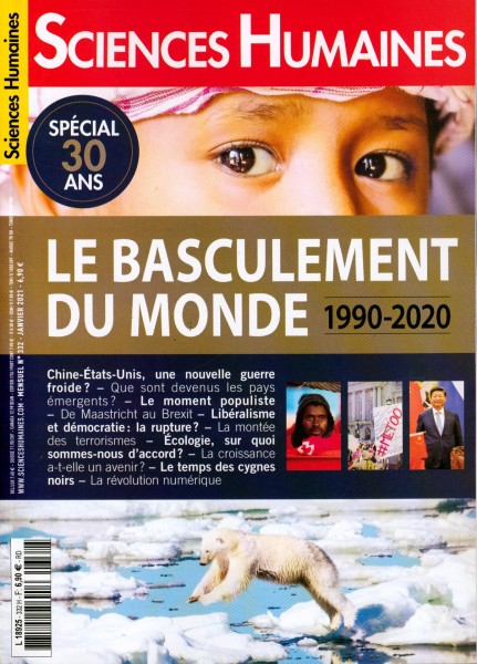 SCIENCES HUMAINES 332/2021