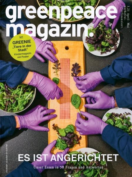 greenpeace magazin. 3/2021