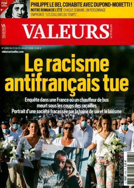 VALEURS ACTUELLES 4365/2020