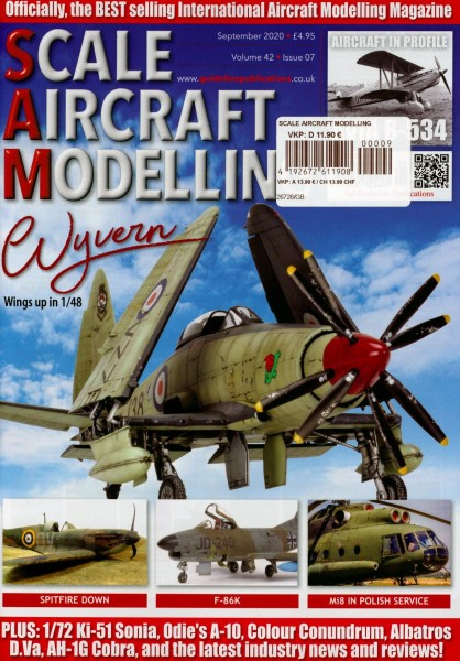 SCALE AIRCRAFT MODELLING 9/2020