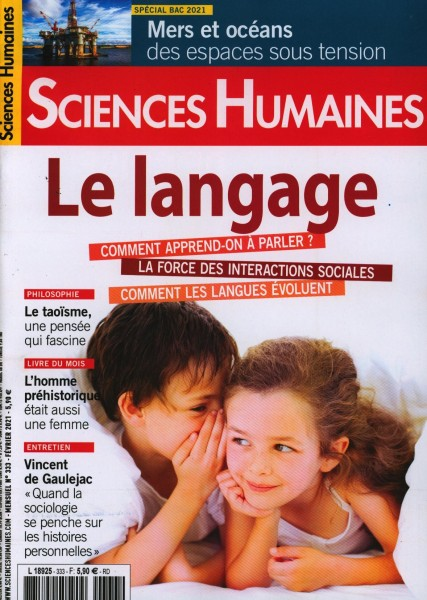 SCIENCES HUMAINES 333/2021