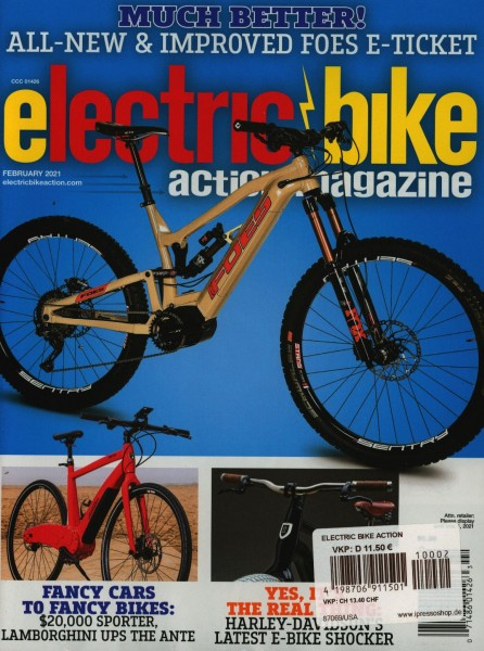 ELECTRIC BIKE ACTION 2/2021