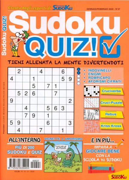 Sudoku QUIZ! 27/2020