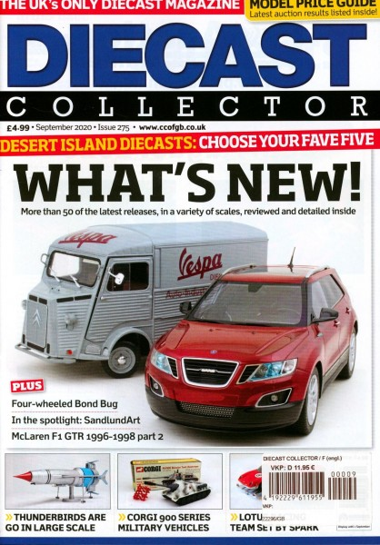 DIECAST COLLECTOR 9/2020