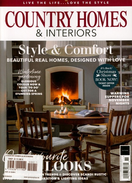 COUNTRY HOMES & INTERIORS 11/2020